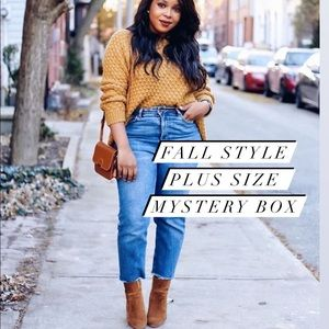 FALL STYLE PLUS SIZE MYSTERY BOX 5 PIECES